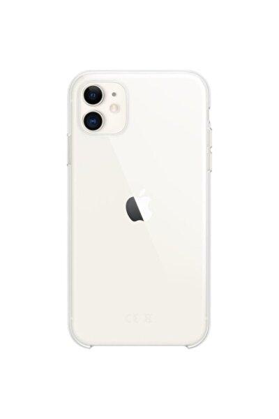 Apple Iphone 11 Silikon Kılıf - Şeffaf