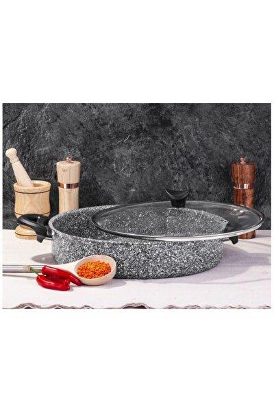 Ultra Granit Basık Tencere 30 Cm Pilav Tenceresi-3405