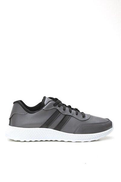 Erkek Gri Sneaker Ayakkabı
