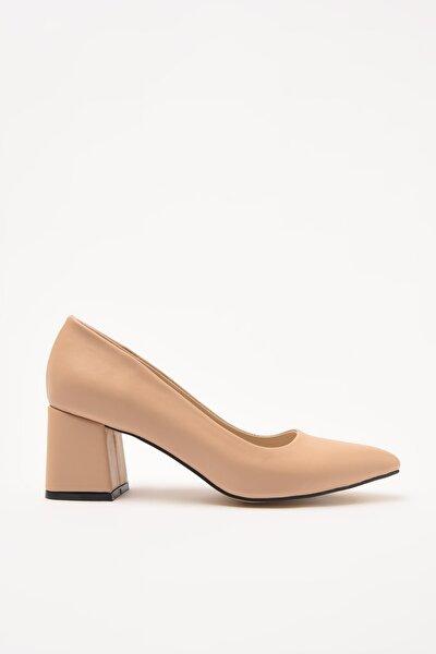 Naturel Kadın Klasik Topuklu Ayakkabı 01AYY209190A330