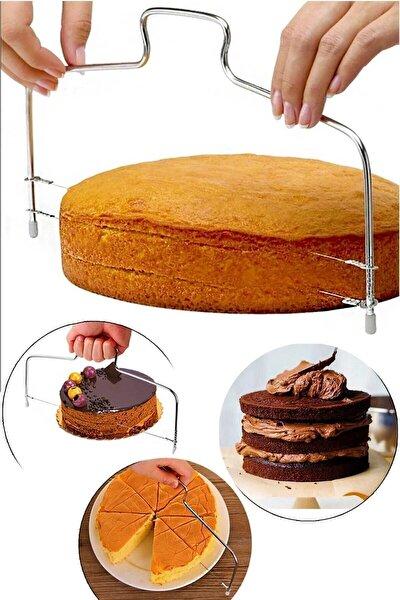 Pasta Kek Pandispanya Kesme Testeresi