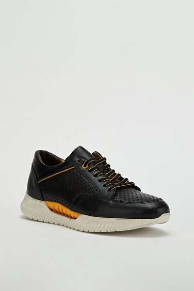 Erkek Hakiki Deri Sneaker