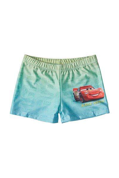 Disney Cars Erkek Çocuk Mavi Mayo