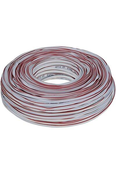 Elektrik Kablosu 2x0,75 Kordon Kablo 100 Metre Çok Telli