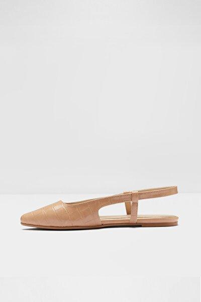 Kadın Bej Düz Ayakkabı