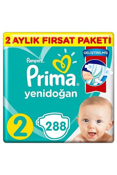 Aktif Bebek 2 Beden Bebek Bezi 288 Adet