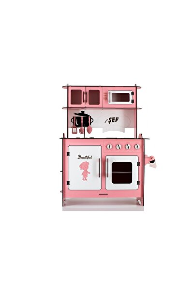 Pembe Büyük Mutfak Seti