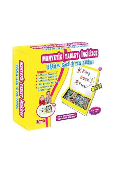 Manyetik Tablet İngilizce Eğitim Seti Ve Yazı Tahtası