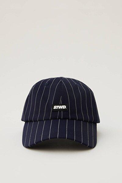 Erkek Mavi Çizgili Mavi Stwd Şapka 04830515