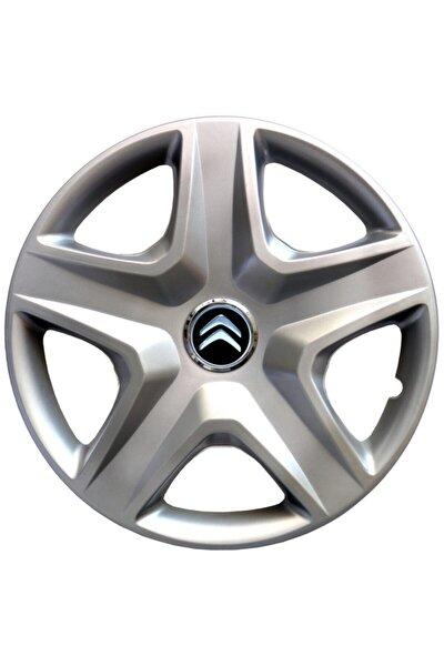 Citroen Berlingo 14 İnç 4'lü Set Jant Kapağı Parlak Gri
