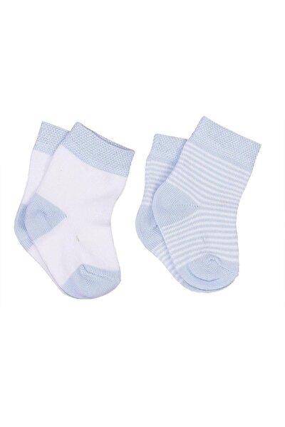 Bebek Mavi 2li Çorap 17533