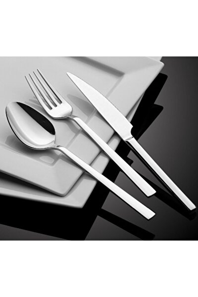 Paslanmaz Çelik Çatal Bıçak Kaşık Seti 42 Parça
