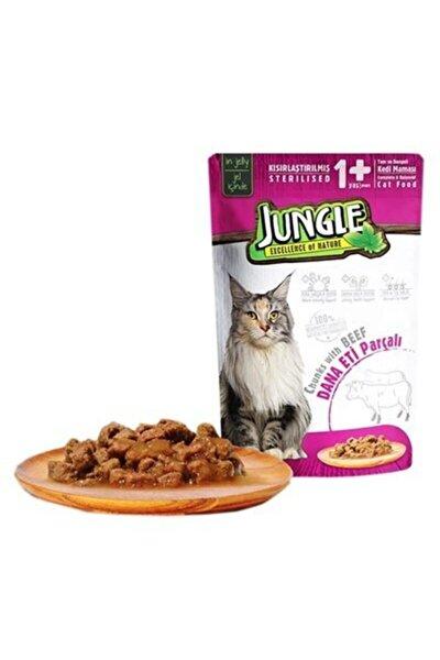 Pouch Kısır Kedi Biftekli Jel Yaş Mama