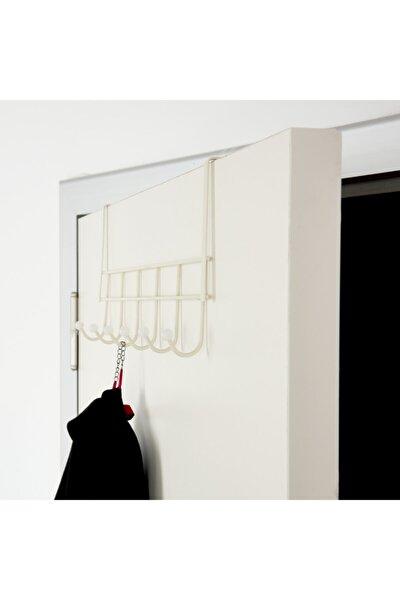 Akın Lüx Eko 6'lı Kapı Arkası Askı - Beyaz