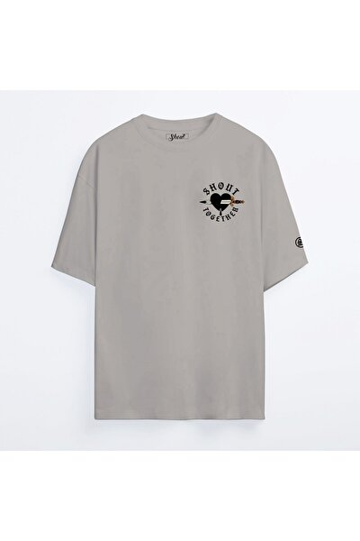 Unisex  Oversize Limited Edition Together T-shirt