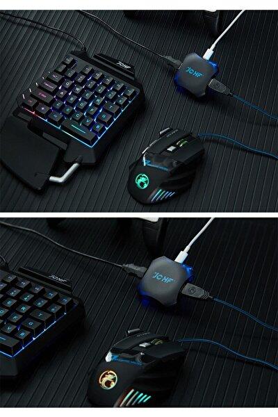 Pubg Oyun Konsolu 3in1 Klavye Mouse Bağlayıcı 3lü Set