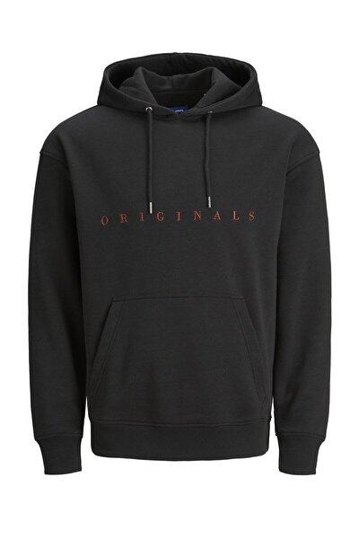 Erkek Siyah Sweatshirt - 12176864