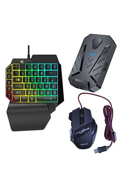 Pubg Oyun Konsolu Klavye Mouse Seti Fortnite Zula Oyun Seti