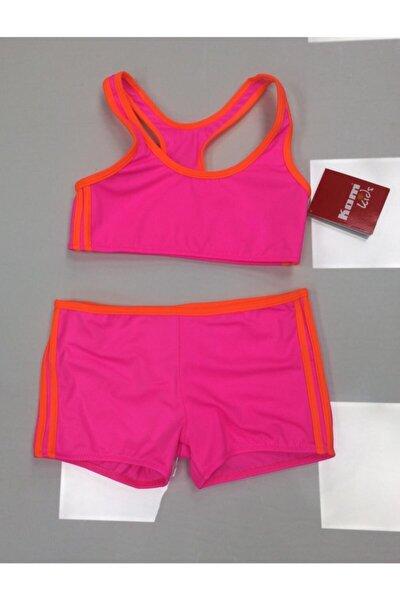 Kız Çocuk Neon Sporcu Bikini