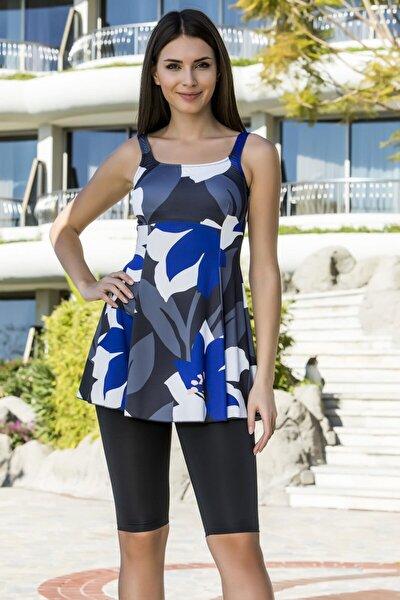 Kadın Likralı Taytlı Elbise Mayo
