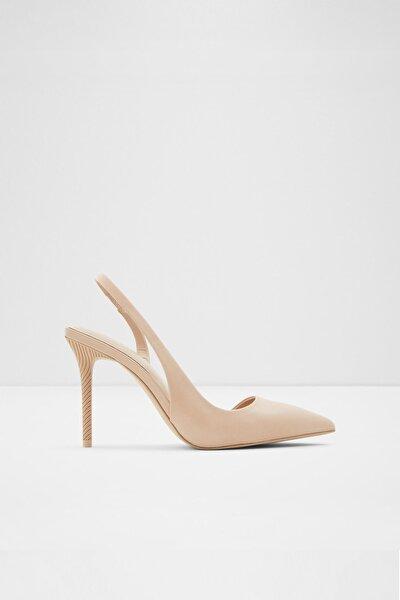 Tırarıth - Krem Kadın Topuklu Ayakkabı