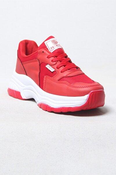 Spor Ayakkabı Kırmızı