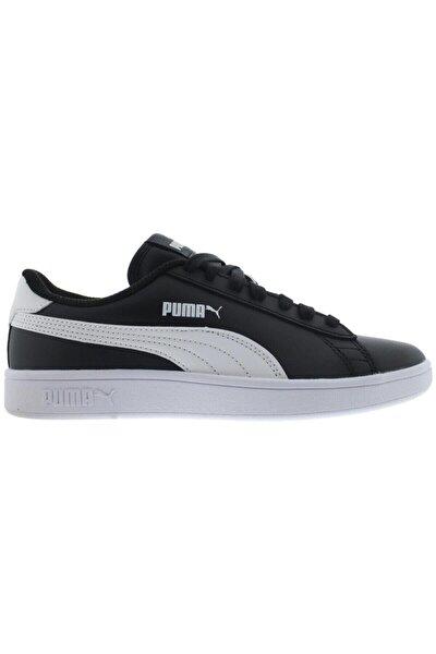 Smash V2 L Jr Siyah Beyaz Kadın Sneaker Ayakkabı 100348757