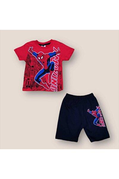 Erkek Bebek Yazlık Spider- Man Takım