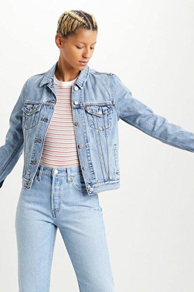 Kadın Mavi Ceket