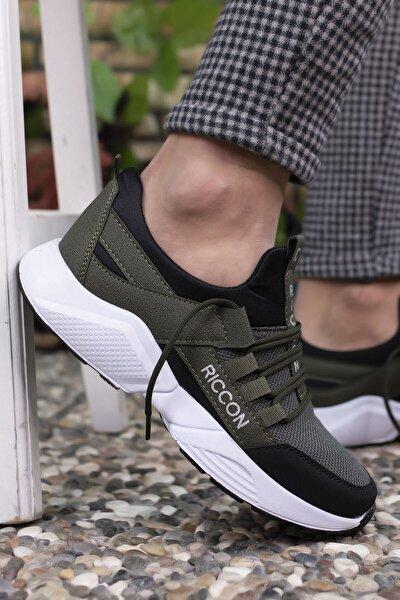 Haki Siyah Unisex Sneaker 0012072