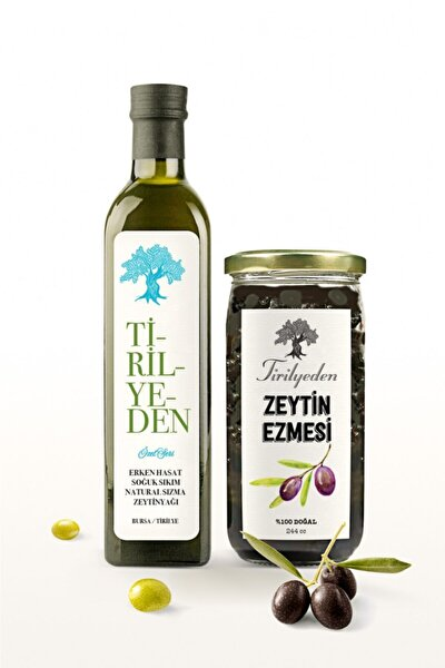 Zeytin Sütü Anne Bebek Serisi 250 Ml +doğal Zeytin Ezmesi 244 Cc