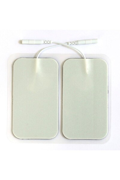Tens Cihazı Kablolu Yedek Elektrot- 5x9 Dikdörtgen Tens Pedi 4'lü Paket
