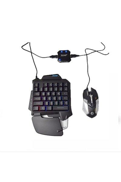 Pubg Klavye Jchf-68 3 In 1 Klavye Mouse Bağlantılı Mobil Oyun Seti