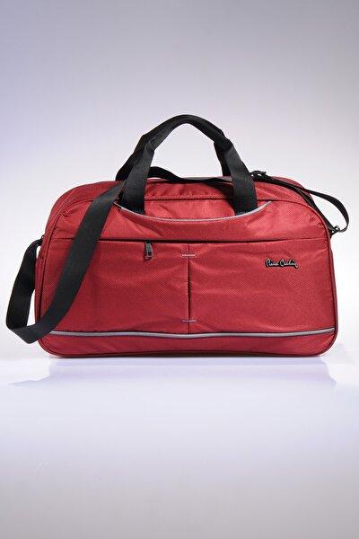 Pıerre Cardın 04pc9800-06-k Kırmızı Unısex El Valizi Ve Spor Çantası
