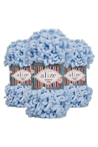 Puffy Fine 218 (bebe Mavi) El Örgü Ipi 1 Adet