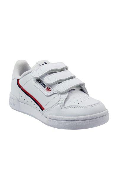 Unisex Çocuk Beyaz Continental 80 Spor Ayakkabı (eh3222)