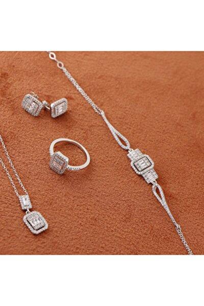 925 Ayar Gümüş Baget Set