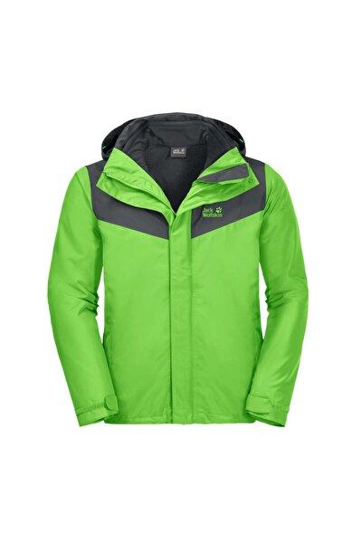Erkek Yeşil Arland 3in1 Su Ve Rüzgar Geçirmez Mont 111071