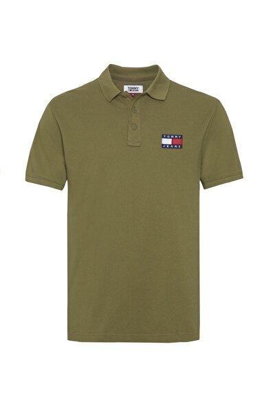 Erkek Badge Polo Yaka T-shirt Dm0dm07456 Haki