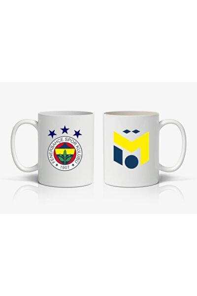Mesut Özil Ve Fenerbahçe Logolu Baskılı Kupa Bardak