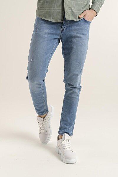 Reax 303 Slim Fit Likralı Erkek Jean Pantolon