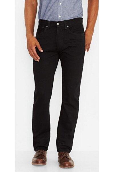 Erkek Siyah Jeans Kot Pantolon 00501-1820