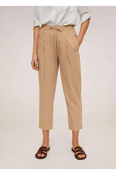 Kadın Orta Kahverengi Bağcıklı Takım Pantolon 67056705
