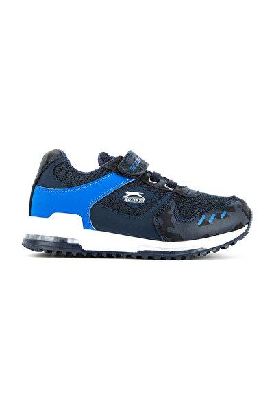 EDMOND Spor Çocuk Ayakkabı Lacivert Kamuflaj SA11LP011
