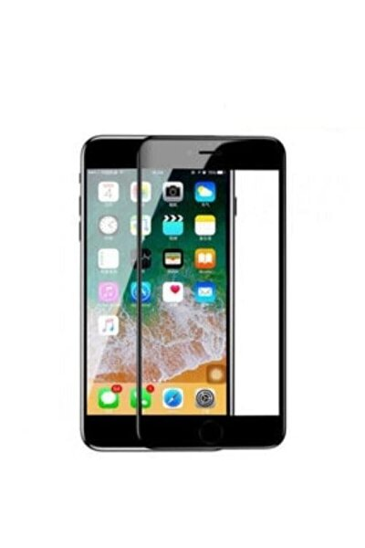 Iphone 6 Ve 6s Tam Kaplayan Kırılmaz Cam 5d 9d Ultra Cam Siyah