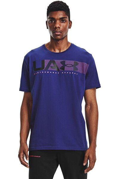 Erkek Spor T-Shirt - UA PERFORMANCE APPAREL SS - 1361670-415