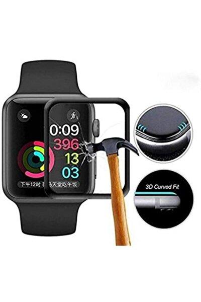 Apple Watch 6. Nesil 44 Mm 5d Tam Kapatan Polymer Cam Ekran Koruy
