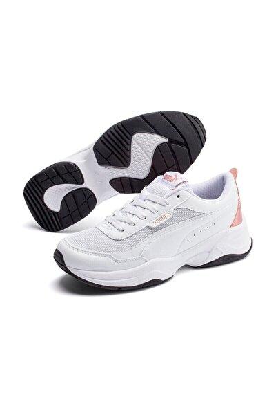 Kadın Cılıa Mode Metallıc Beyaz Sneaker Ayakkabı
