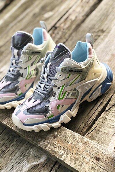 21y311 Kadın Fashion Sneaker Gri
