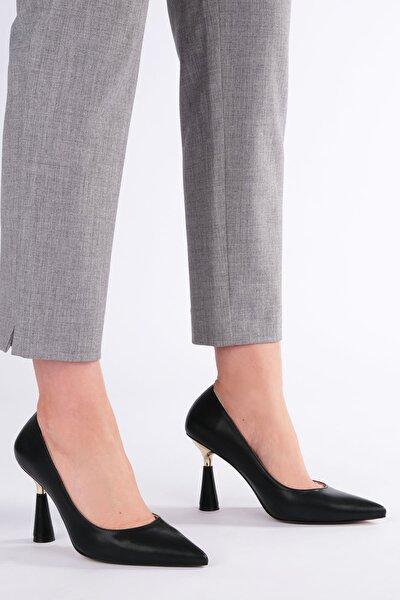 Estor Kadın Stiletto Topuklu Ayakkabısiyah